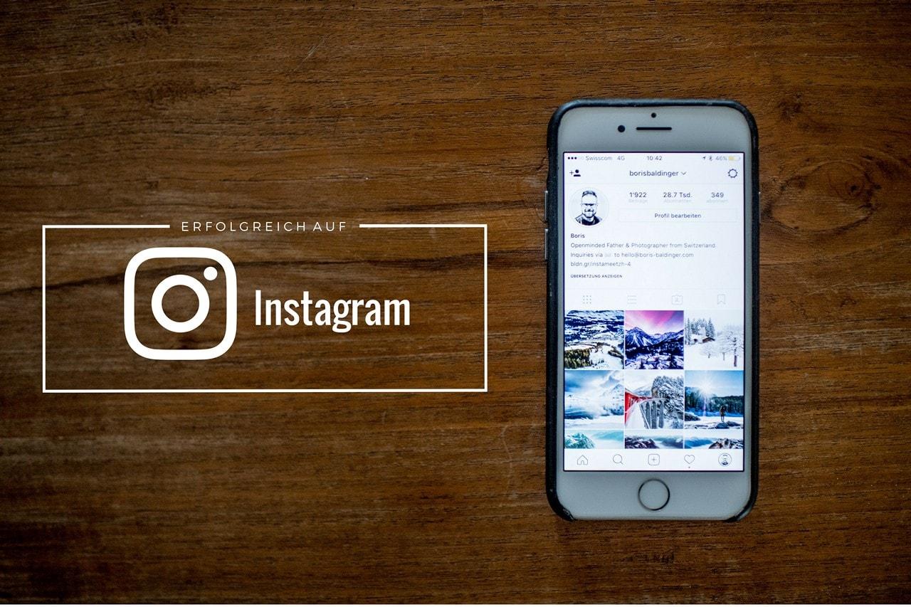 Erfolgreich auf Instagram klein