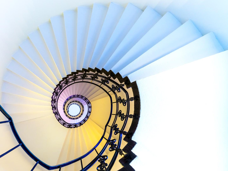 HARRY LIEBER Spiral And Steps
