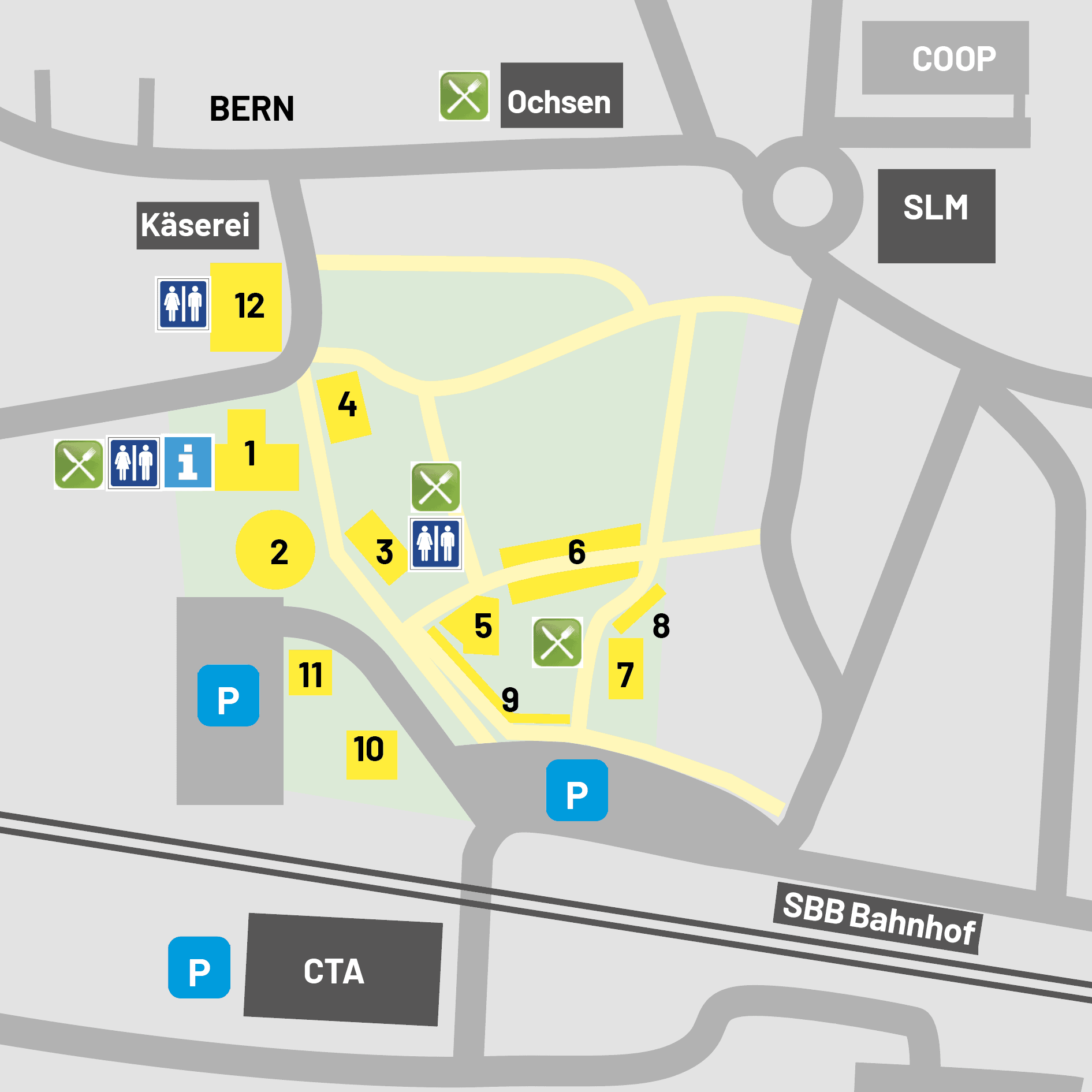 Photo Münsingen - Situationsplan - 2021